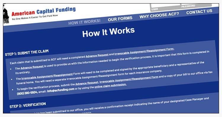 wordpress one-page website design example yorktown va