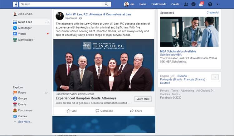 facebook posting services hampton va