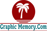 graphic memory web designer logo