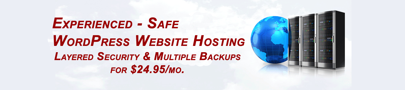 safe wordpress website hosting services