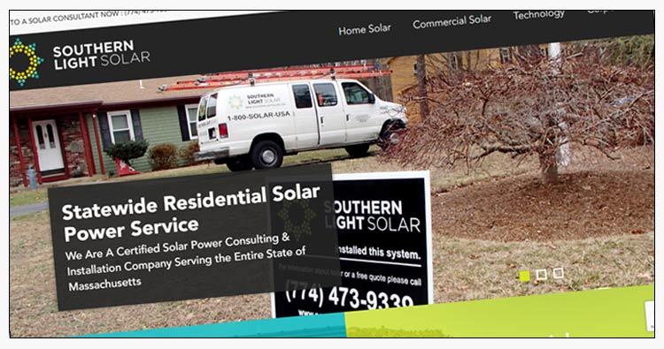 solar energy website design examples norfolk va